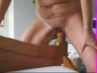 ¡Kimberly hace que esta polla peliculas porno tube se corra!